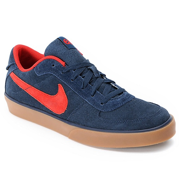 best service 3f34a 04f0a Nike 6.0 Mavrk Navy, Red, and Gum Shoes. M5ab670ae5521be268aa67e18